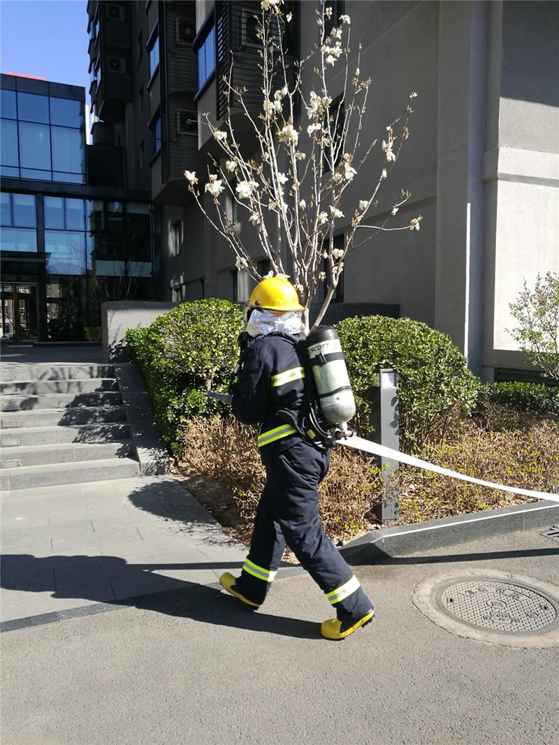 国贸世纪公寓夯实消防保障